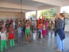 Creative workshop in Rajasthan, India