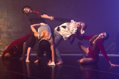'Lustrum' by Gary Clarke @ Yorkshire Dance, photography by Sara Teresa