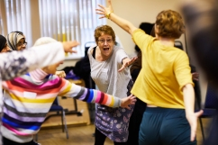 'Dance To Health' project, Sheffield