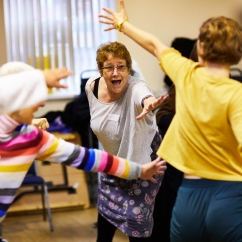 Dance To Health project, Sheffield