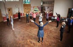 50+ Contemporary Dance Sheffield. Photography by Charlie Armitage